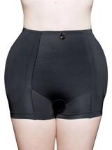 BRAND NEW WOMEN'S FULLNESS BUTT HIP PADDED ENHANCER SHAPEWEAR PANTY BLACK 8019
