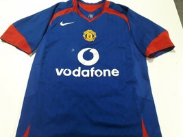 old Blue soccer Jersey Manchester United   2005 - $38.61