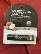 Moroccan Magic Argan & Essential Oil Lip Balm Coconut Almond Free Ship - $5.94
