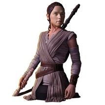 Star Wars The Force Awakens Rey Mini Bust 1:6 Statue Polyresin - $149.95