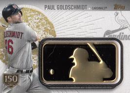 Paul Goldschmidt 2019 Topps Series 2 150th Anniversary Relic Card #GAP-P... - $5.00