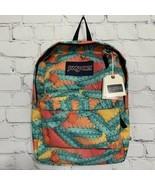 Jansport Backpack Cactus Flower Gym School Bag SUPERBREAK MOJAVE BLOOM N... - $43.95