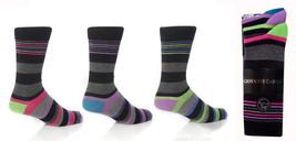 6 Paar Herren Dublin Giovanni Cassini Gestreifte Socken 6-11 uk - $14.47