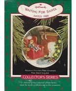 """Hallmark """"Waiting For Santa"""" Collector's Series- Dated 1988 - $3.71"""
