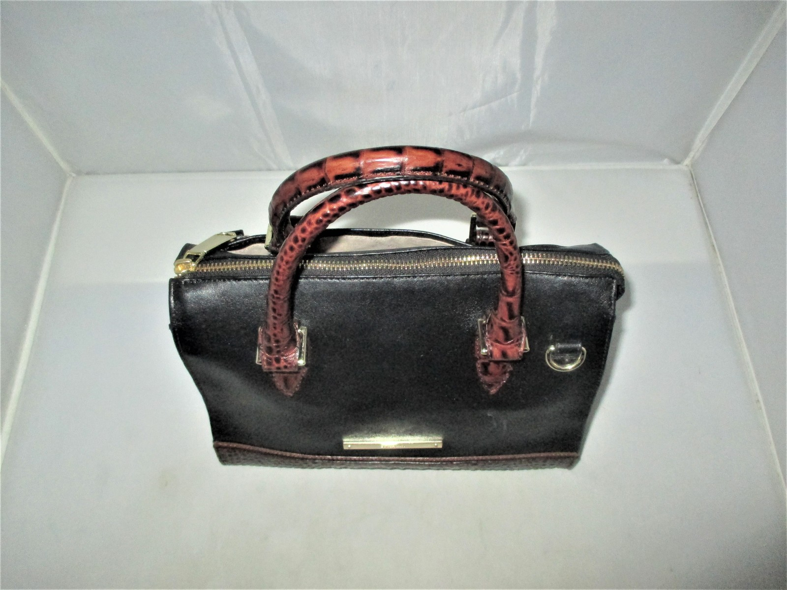 Brahmin Tuscan Tri-Texture Anywhere Convertible Satchel, Shoulder Bag,Tote $255 image 5