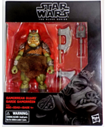 Star Wars Gamorrean Guard 6 in Exclusive action figure ROTJ Black Series - $44.88