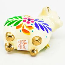 Handcrafted Painted Ceramic Sheep Lamb Confetti Series Ornament Made in Peru image 6