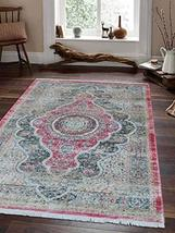 Rugsotic Carpets Crossweave Machine Woven Polyester 9'x12' Area Rug Vint... - $362.00