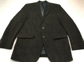 Chaps 38R Brown Corduroy 100% Cotton 2 Button Sport Coat Blazer Jacket - $49.99