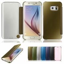 NEU Spiegel Smart Fenster klar Flip Case Hülle für Samsung Galaxy Note 7 - $6.45+