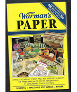 Warman's Paper PB w/out dj-Norman Martinus, Harry Rinker-1994-411 pages - $12.50