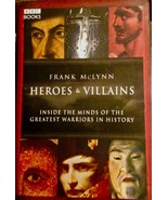 Heroes and Villains by FranK McLynn history of great warriors 1st ed HC 2007 VG - $8.91
