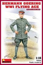 Miniart Models - 16034 - Hermann Goering WWI Flying Ace - $20.99