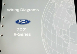 2021 Ford E-Series Electrical Wiring Diagram Troubleshooting Manual EWD ... - $29.65