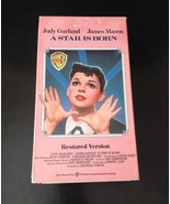 """A Star Is Born"" 1954 VHS Starring Judy Garland (Restored Version) - $9.50"