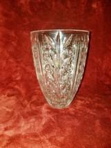 Vtg 24% Leaded Cut Crystal Vase by CCI - $207.90