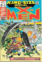 X-Men King-Size Special Comic Book #2, Marvel Comics 1971 Near Mint Excellent - $164.39