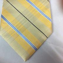 Tommy Hilfiger Men's Silk Tie Yellow Blue - $15.00