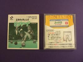 Exciting Billiards (Nintendo Famicom Disk System FDS, 1987) Japan - $9.19