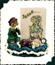 "Boyds Bearstone "" Frame ""Starlight & Slumber.. Sweet Dreams"" #27310 -1E- NIB - $19.99"