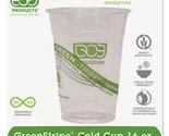 Eco-Products GreenStripe Renewable Resource Compostable Cold Drink Cups, 16 oz,