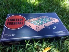 Trademark Games Mini Table Top Foosball - $28.04