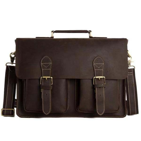 Sale, HandMade Leather Laptop Bag, Leather Briefcase, Business HandBag, Men's Me