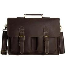 Sale, HandMade Leather Laptop Bag, Leather Briefcase, Business HandBag, Men's Me image 1