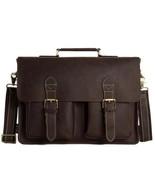 Sale, HandMade Leather Laptop Bag, Leather Briefcase, Business HandBag, ... - $170.00