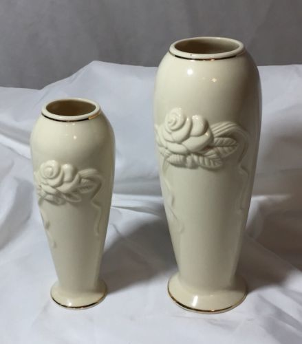 Set2 Lenox Collections Rose Blossom Vase And 50 Similar Items