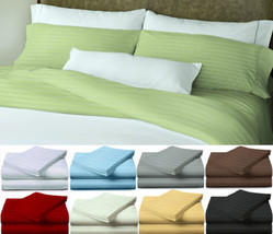 BED SHEET SET EGYPTIAN 4 PIECE COUNT DEEP POCKET 1800 COMFORT ALL COLORS... - $21.84+