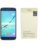 Samsung Galaxy S6 Edge SM-G925V - 64GB - Black Sapphire (Verizon) Smartp... - $224.95