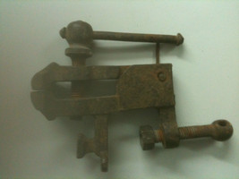 Bench vice , very old  - $57.62