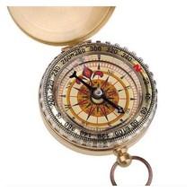 Compass Camping Hiking Portable Brass Pocket Golden Navigation AG3