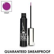 LIP INK Organic Smearproof Waterproof Liquid Eye Liner - Violet - $24.75