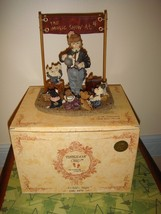 Boyds Bears Dollstone The Amazing Bailey Magic Show At 4 Style 3518 - $15.99