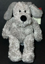 "RARE Russ Berrie Schmoozy Gray Dog Soft Plush NEW 9"" Stuffed Animal Love... - $27.28"