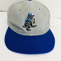 Scott Comer Former Mets Player Baseball Hat Autographed Gray Blue Cap - $39.59