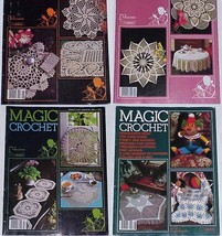 MAGIC CROCHET - 4 Issues - #16, 22, 27 & 28 - $19.99