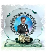 Photo Gift on Cut Crystal glass plaque  of  Daniel O'Donnell Ltd Edition |8 - $32.44