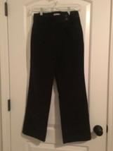 Talbots Petites Women's Stretch Corduroy Pants Sz 2 Chocolate - $50.49