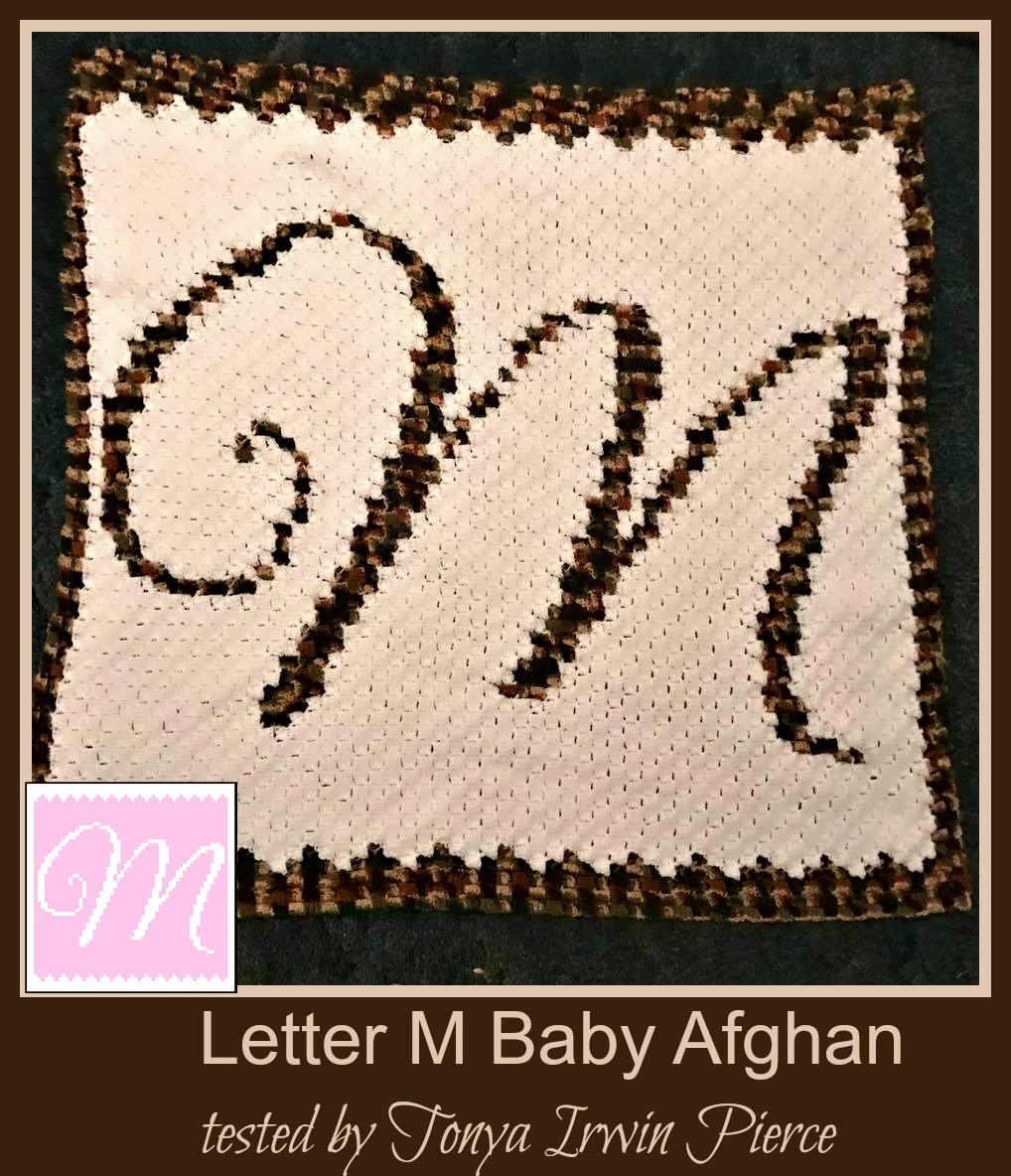 Dorable Crochet Letter M Pattern Ensign - Sewing Pattern for Wedding ...