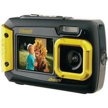 Coleman 2V9WP-Y 20.0-Megapixel Duo2 Dual-Screen Waterproof Digital Camer... - $120.06