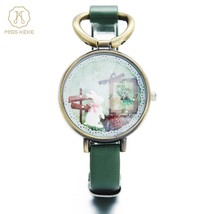 Clay Cute Vintage Retro Rabbit Clock Gold Women Watch Ladies Woman High ... - $13.42