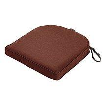 Classic Accessories Montlake Cont. Seat Cushion Foam & Slip Cover, Heather Henna - $68.99