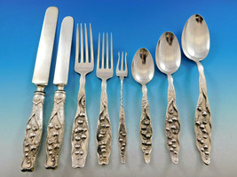 Lily of the Valley by Whiting Sterling Silver Flatware Set Service 80 pcs Dinner