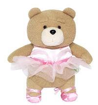 "eZen Creation Ballerina Teddy Bear Plush Toy Stuffed Animal 11.8"" 30cm"