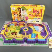 Mall Madness Electronic Board Game 2004 Milton Bradley 100% Complete Wor... - $27.04