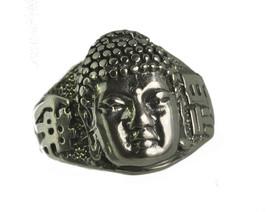 WOW Buddha of Infinite Life Buddha Buddhism Sterling Silver 925 ring Jew... - $37.21