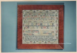 The Mary Sears Sampler, The Scarlet Letter Cross Stitch Pattern Booklet ... - $12.95